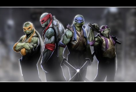 Teenage Mutant Ninja Turtles by Stjepan Šejić of Croatia