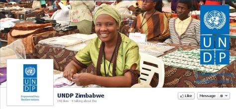 UNDP Zimbabwe Facebook page