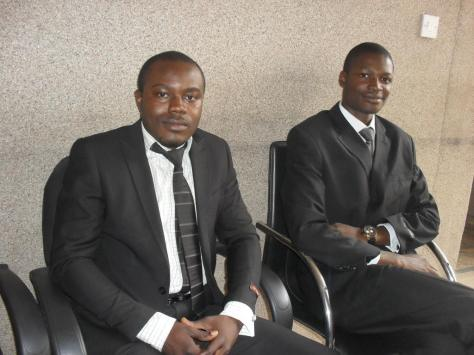 From Left to Right: George Okewi and Samuel Okopi