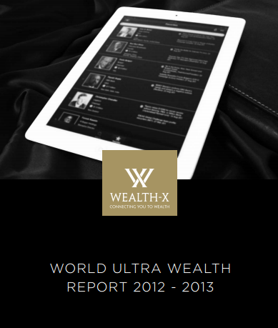 The 2012-13 World Ultra Wealth Report by Wealth-X