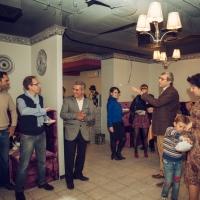 Successful designer in Syria and internationally, asylum-seeker in Ukraine. Hussam Al-Yamani defies the odds, opens Mediterranean cuisine restaurant in Kyiv's Podil.