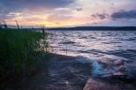 Закат над Воткинским прудом