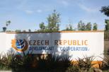 Czech Republi Development Cooperation mural on Rusinga Island in Kenya (Photo: Centre Narovinu)
