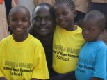 Rusinga Island kids know how to support their school brand (Photo: Centre Narovinu)