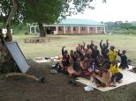 Rusinga Island kids learning (Photo: Centre Narovinu)