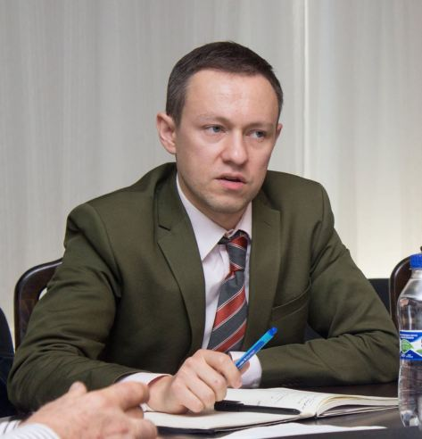 Oleksandr Pietushkov, Chief International Officer at Ukrainian Union of Building Materials' Manufacturers