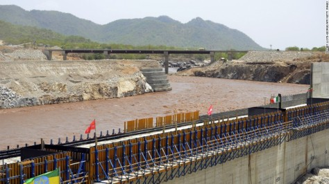 Scheduled to be completed by July 2017, this dam will cost the Ethiopian government $4.7 billion. The Renaissance Dam sits on the Blue Nile river in the Benishangul-Gumuz region. Creating 12,000 jobs and generating 6,000 MW of energy, the dam will also serve neighboring Sudan and Egypt. Source: CNN.com