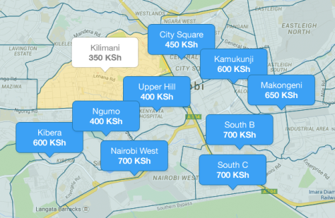 Unlike Uber, Maramoja app uses zone-based pricing to eliminate conflict between driver and passenger