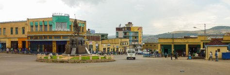 Gondar, a secondary city of 358,257 in the north of Ethiopia