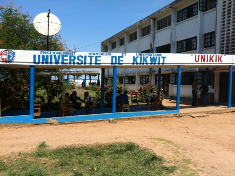 University of Kikwit in DRC. Intermediary city of Kikwit  is home to some 400,000 people in the southwestern part of the Democratic Republic of Congo. Source: lighteningkongo.wordpress.com